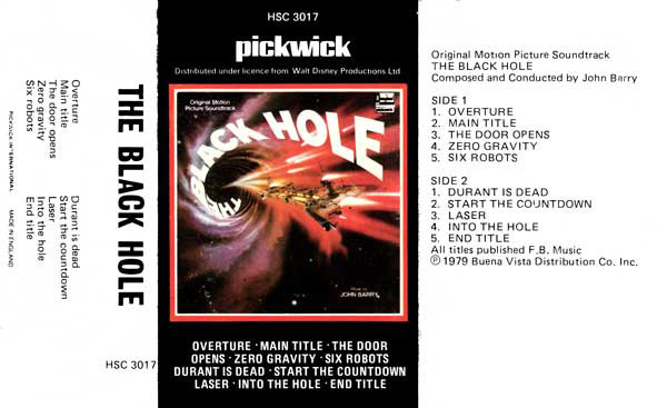 The black hole movie soundtrack