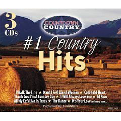 Various - #1 Country Hits cover of release