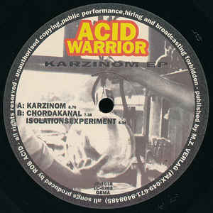 Acid Warrior - Karzinom EP