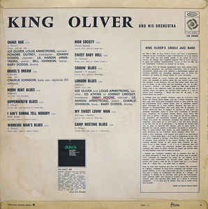 King Oliver & His Orchestra - King Oliver And His Orchestra