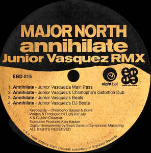 Major North - Annihilate (Junior Vasquez RMX)