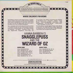 Snagglepuss (3) - Snagglepuss And The Wizard Of Oz (In Story And Song)