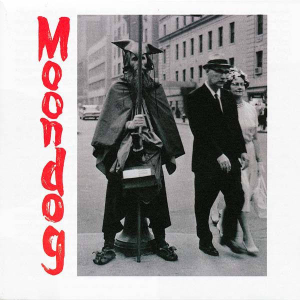 Moondog (2) - The Viking Of Sixth Avenue cover of release
