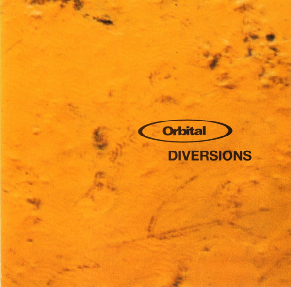 Orbital - Diversions cover of release