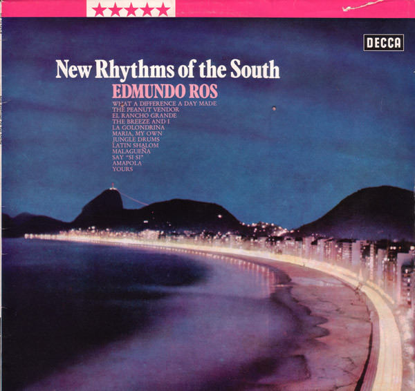 Edmundo Ros & His Orchestra - New Rhythms Of The South cover of release