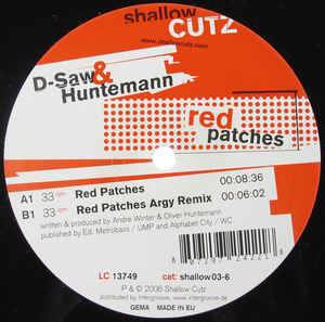 D-Saw - Red Patches