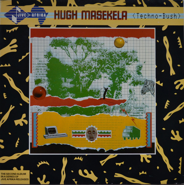 Hugh Masekela - Techno-Bush cover of release