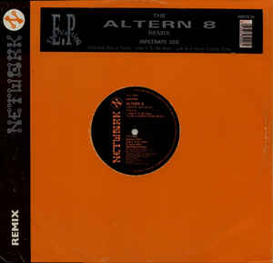 Altern 8 - Remixed Vertigo EP