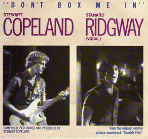 Stewart Copeland - Don't Box Me In