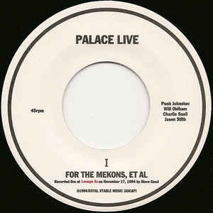 Palace - For The Mekons, Et Al
