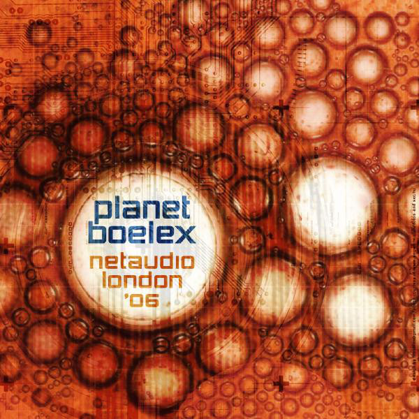 Planet Boelex - Live At Netaudio London 2006 cover of release