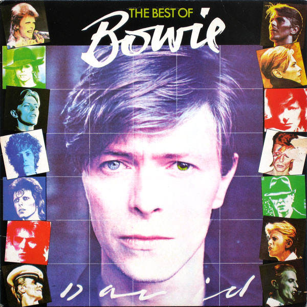 David Bowie - The Best Of Bowie cover of release