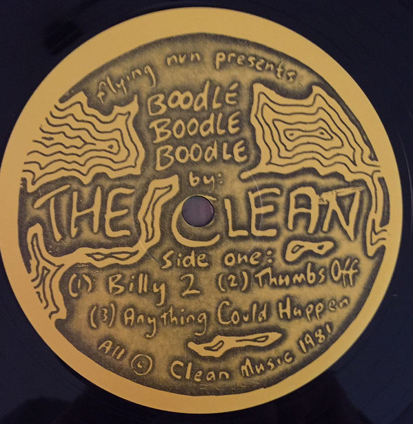Clean, The - Boodle, Boodle, Boodle cover of release