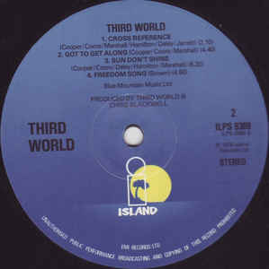 Third World - Third World cover of release