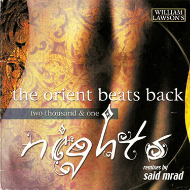 Said Mrad - The Orient Beats Back (Two Thousand & One Nights) cover of release