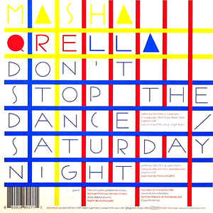 Masha Qrella - Don't Stop The Dance / Saturday Night