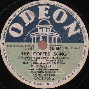 Kurt Widmann Und Sein Orchester - South America, Take It Away / The Coffee Song