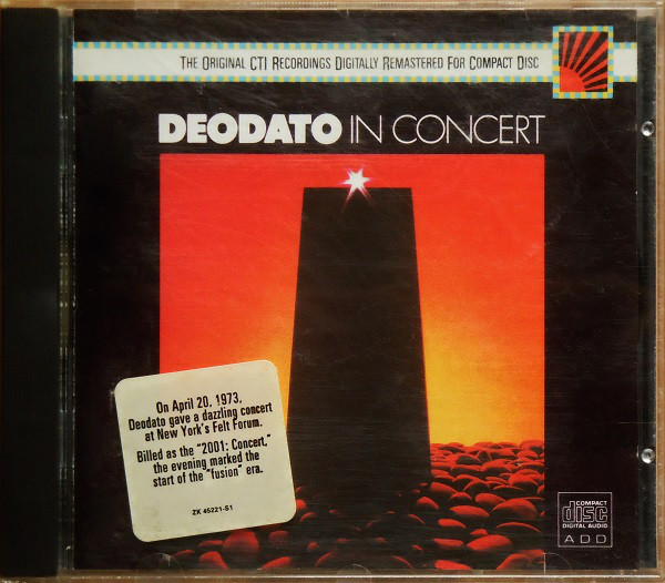 Eumir Deodato - In Concert cover of release
