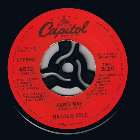 Natalie Cole - Annie Mae cover of release