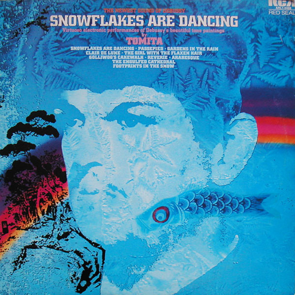Tomita, Claude Debussy - Snowflakes Are Dancing (The Newest Sound Of Debussy) cover of release