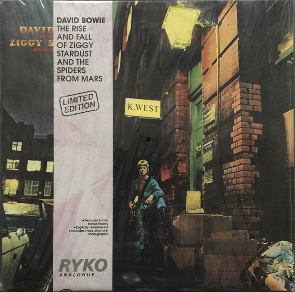 David Bowie - The Rise And Fall Of Ziggy Stardust And The Spiders From Mars cover of release