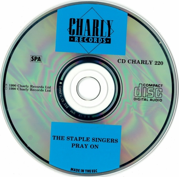 Staple Singers, The - Pray On cover of release