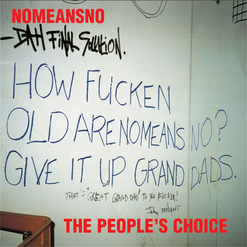 NoMeansNo - The People's Choice cover of release
