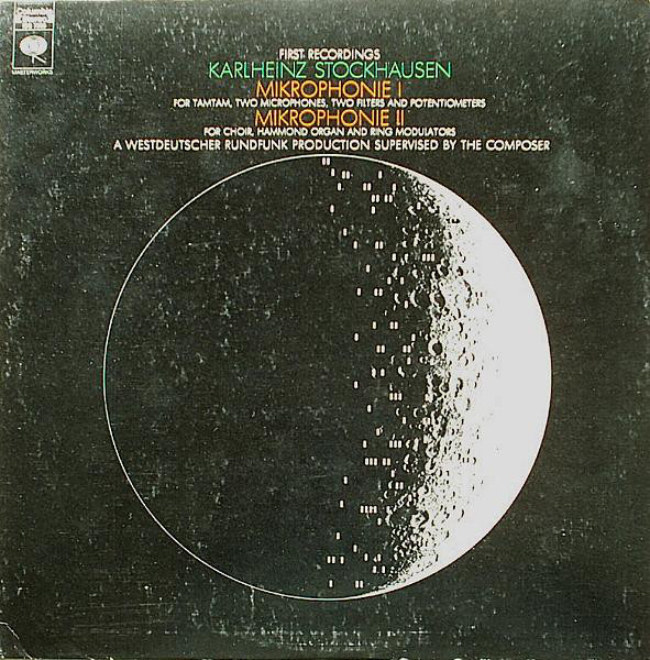 Karlheinz Stockhausen - Mikrophonie I / Mikrophonie II cover of release