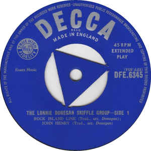 Lonnie Donegan's Skiffle Group - The Lonnie Donegan Skiffle Group EP