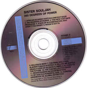 Sister Souljah - 360 Degrees Of Power