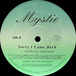 Mystie - Sorry I Came Back