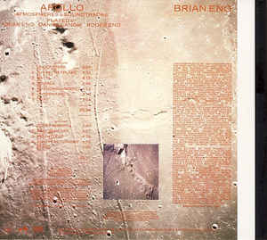 Brian Eno - Apollo (Atmospheres & Soundtracks)