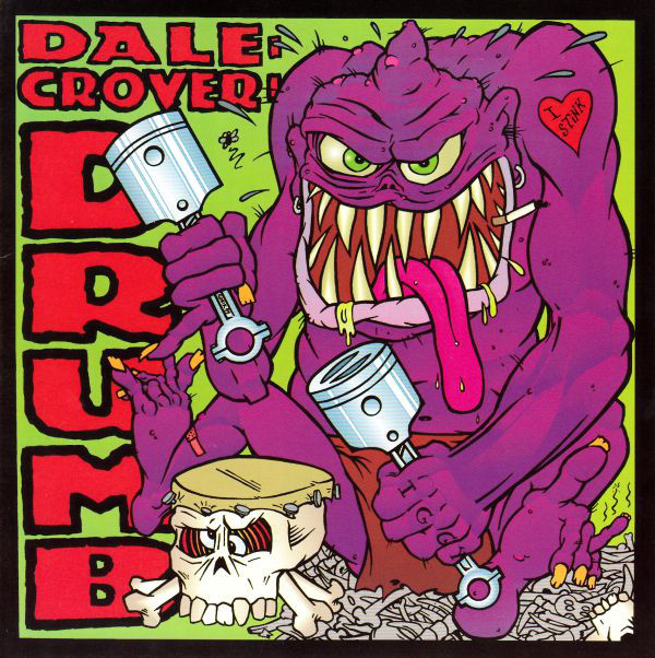 Dale Crover - Drumb cover of release