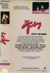 Tubes, The - Live At The Greek