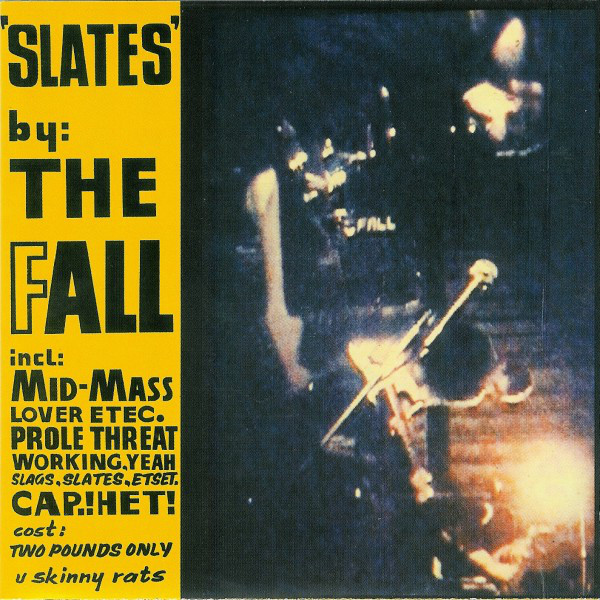Fall, The - Slates cover of release
