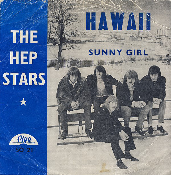 Hep Stars, The - Hawaii / Sunny Girl cover of release