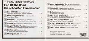 Thomas And Thomas - End Of The Road - Die Schönsten Filmmelodien