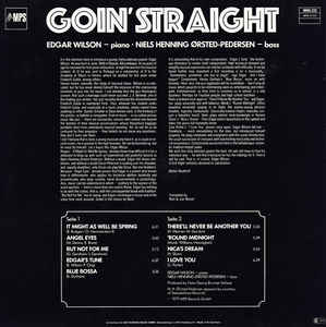 Edgar Wilson - Goin' Straight