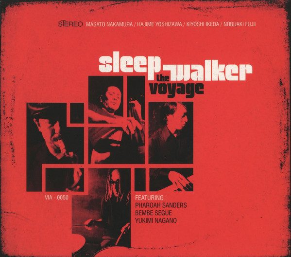 Sleep Walker - The Voyage cover of release