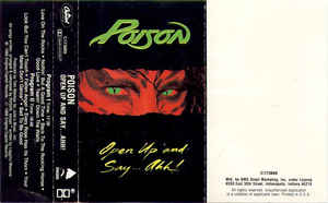 Poison (3) - Open Up And Say ...Ahh!
