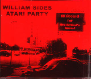 William Sides Atari Party - All Aboard For Mrs. Rifkind's House cover of release