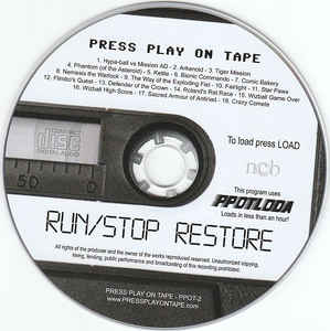 Press Play On Tape - Run/Stop Restore