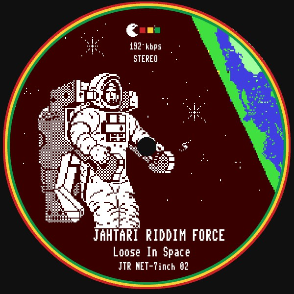 Jahtari Riddim Force, Disrupt (2) - Loose In Space / The Stars My Destination cover of release