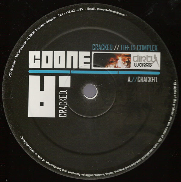 DJ Coone - Cracked / Life Is Complex cover of release