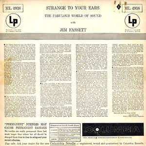Jim Fassett - Strange To Your Ears - The Fabulous World Of Sound With Jim Fassett