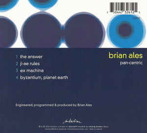 Brian Ales - Pan-Centric