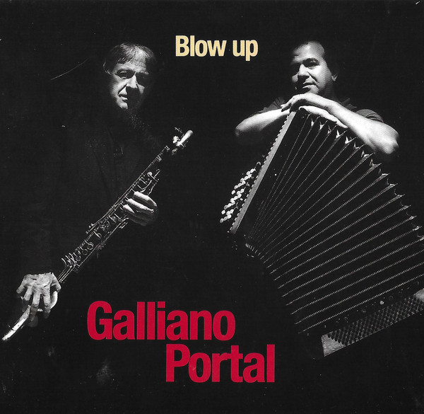 Richard Galliano, Michel Portal - Blow Up cover of release