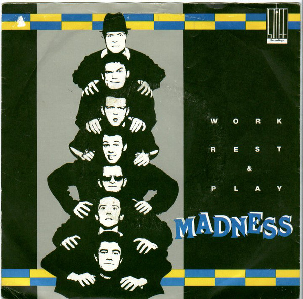 Madness - Work Rest & Play EP cover of release
