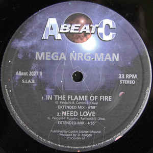 Mega NRG Man - Ready To Go / Fight / In The Flame Of Fire / Need Love
