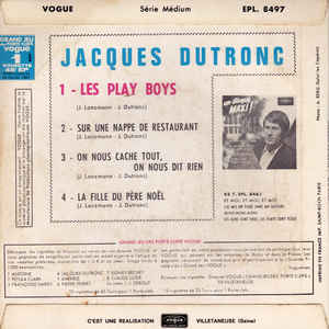 Jacques Dutronc - Les Play Boys